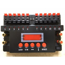 Twelve cue Sequencer Firing System