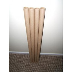 Paper Tubes 10 1inch ID X 36inch Long X .163 VERY HEAVY wall