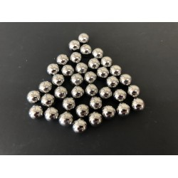 Ball mill 1/2 inch Chrome Plated Steel grinding media X 50 pcs