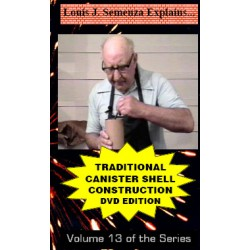 Canister Shell Construction DVD / Semenza volume 13