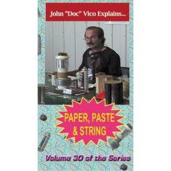 Paper, Paste & String DVD / Vico volume 30