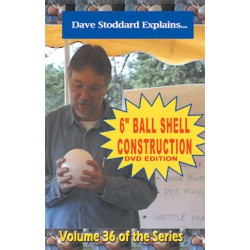 "6"" Ball Shell DVD / Stoddard volume 36"
