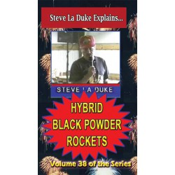 Hybrid Black Powder Rockets DVD / La Duke volume 38