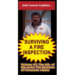 Surviving a Fire Inspection DVD / Lazarus volume 43