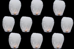 Sky lanterns: an environmentally-friendly way to enjoy fireworks