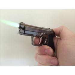 Gun torch lighter steel construction