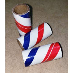 9/16 X 1-1/2 X 1/16 Red White and Blue (50qty)