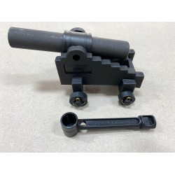 Black powder Garrison cannon